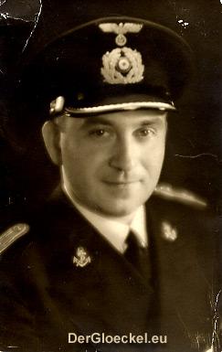 Leutnant der Marine, Fritz Pospischil im April 1941