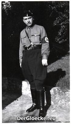 Friedrich Pospischil als Angehöriger der Sturmabteilung in den 1930er Jahren